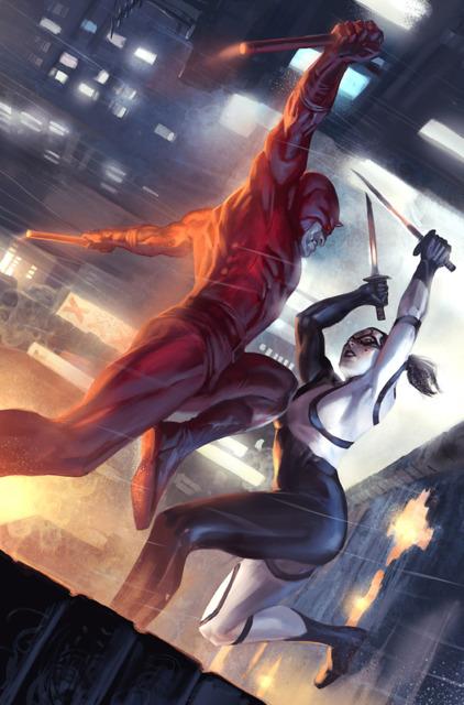 Daredevil vs. Lady Bullseye