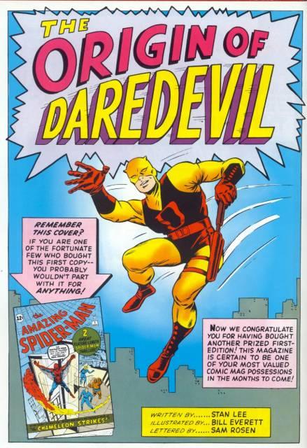 Origin of Daredevil