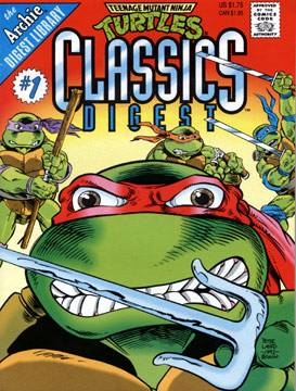 Teenage Mutant Ninja Turtles Classics Digest