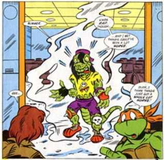 Mondo: teenager turned reptile