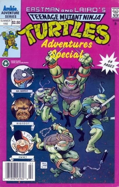 Teenage Mutant Ninja Turtles Adventures Special
