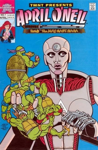Teenage Mutant Ninja Turtles Present: April O'Neil (May East Saga)