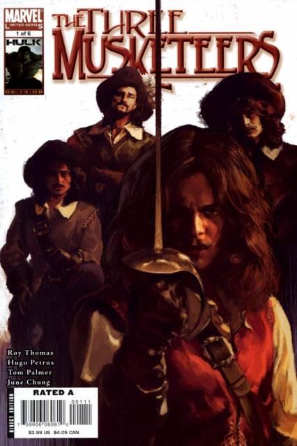 Marvel Illustrated: The Three Musketeers