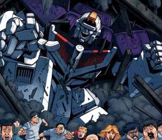 In the subway tunnels - TF: All Hail Megatron #3