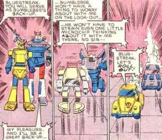Bumblebee & Bluestreak - TF (Marvel) #11