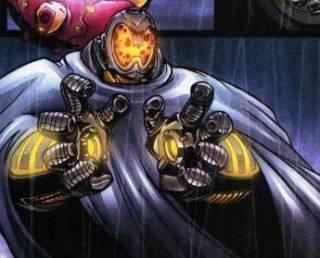 Ultron possessing the armor