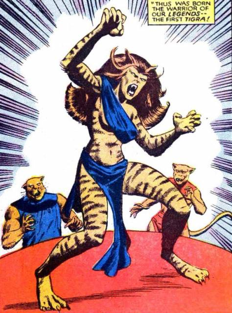 The First Tigra