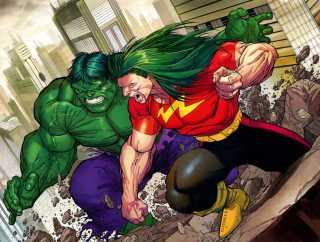 Doc Samson Vs. The Hulk