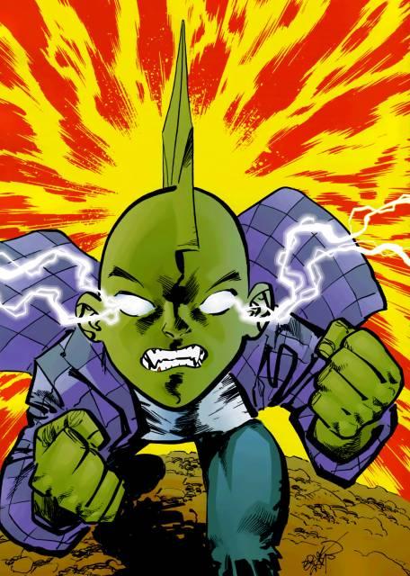 Super Strength & Lightning Power