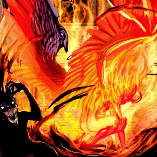 The Angelus' fire