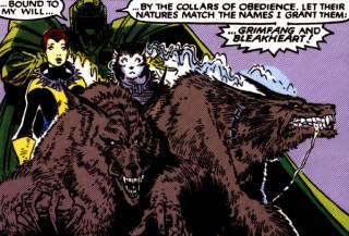 Grimfang and Bleakheart