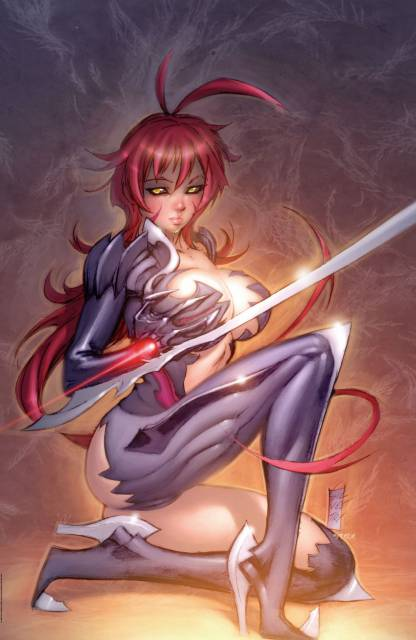 Masane wielded the Witchblade differently compared to other hosts.