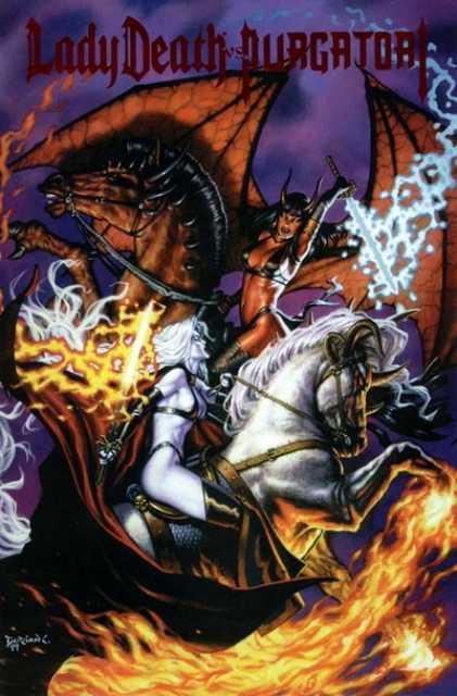 Lady Death vs. Purgatori