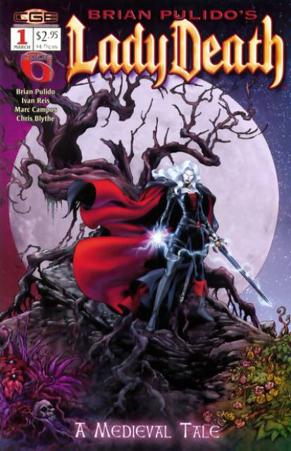 Brian Pulido's Lady Death: A Medieval Tale