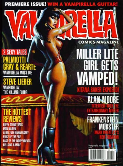 Vampirella Comics Magazine