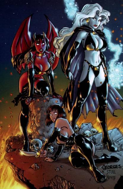 Chaos! Bad Girls: Purgatori, Lady Death, and Chastity