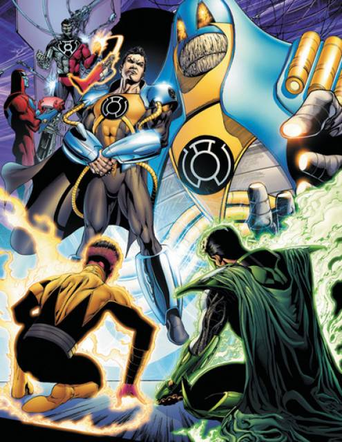 The Heralds of the Anti-Monitor