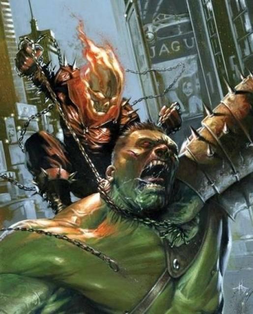 Ghost Rider vs. Hulk