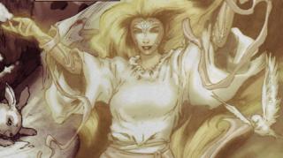 Sonja's goddess, Scathach