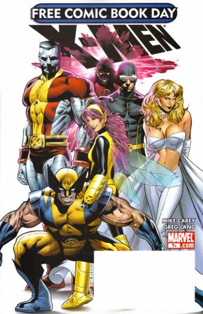 X-Men Free Comic Book Day 2008
