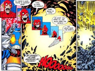 Death of the Barry- Crisis on Infinite Earths