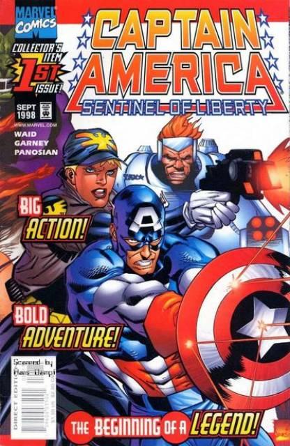 Captain America: Sentinel of Liberty