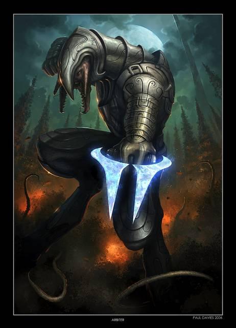 Arbiter, wielding an Energy Sword