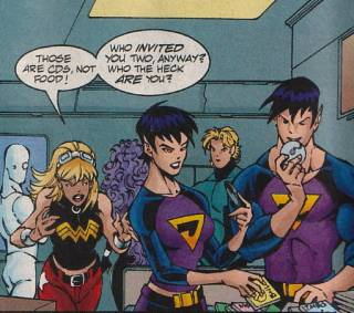 Wonder Twins in Young Justice.