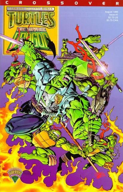 Teenage Mutant Ninja Turtles-Savage Dragon Crossover