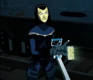 Madame Masque as she appeared in Iron Man: Armored Adventures.