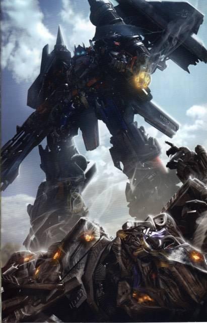 Optimus & Jetfire Combined