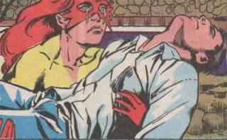Firestar's dad injured by Spiral.