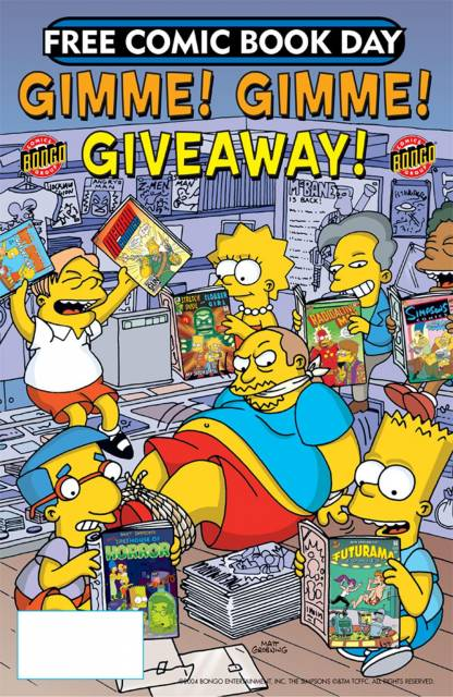 Free Comic Book Day Gimme! Gimme! Giveaway!