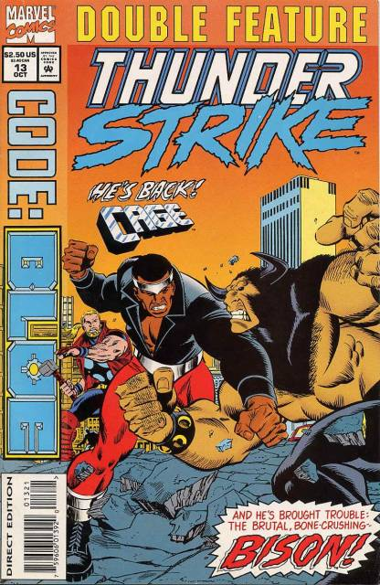 Marvel Double Feature... Thunderstrike/Code: Blue