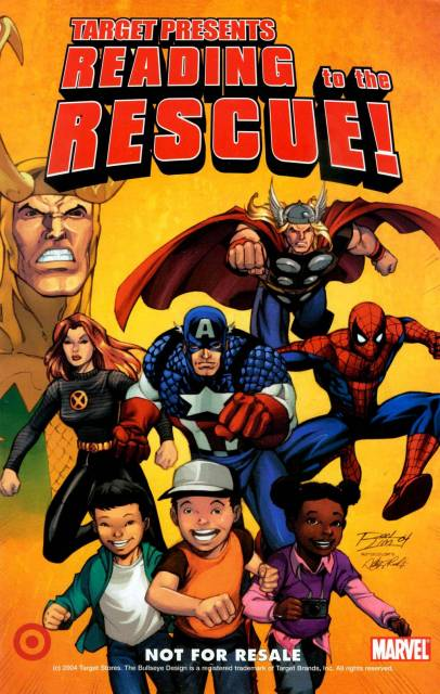 Target Presents: Reading to the Rescue!