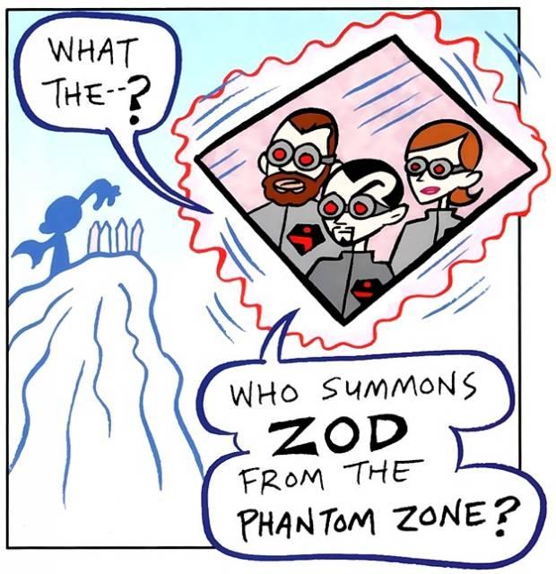 Tiny Titans Zod