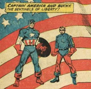 A new Captain America and Bucky