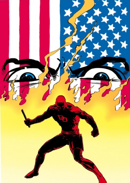 Kingpin's actions and Nuke's killing spree necessitates Daredevil's return.