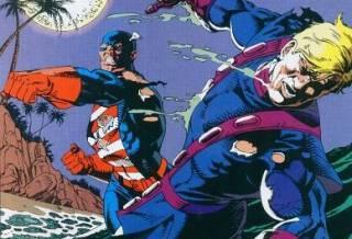 U.S.Agent vs Hawkeye