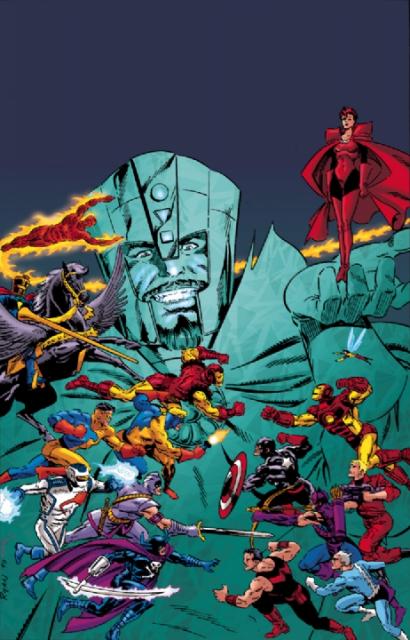Walker leads the Avengers against the Legion of Unliving
