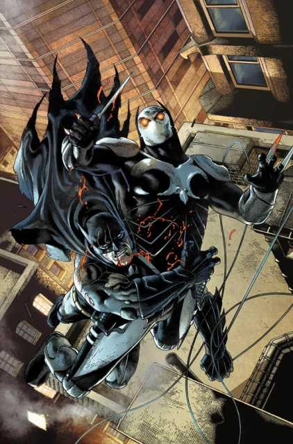 Batman vs March - Art by Andy Clarke & Tomeu Morey
