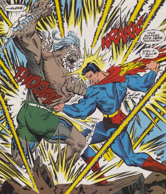 Superman vs Doomsday: Fight to the Death!