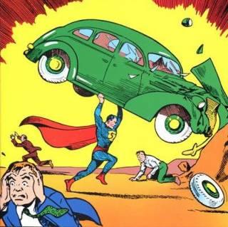 Golden Age Superman by Joe Shuster