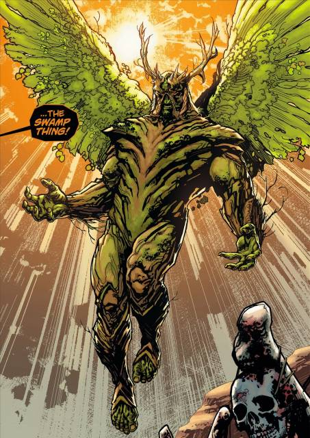 Swamp Thing - now with wings!