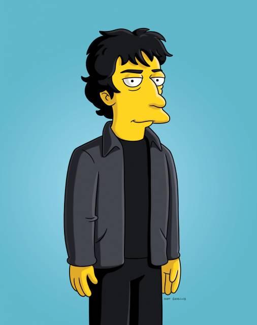 Simpsons Gaiman