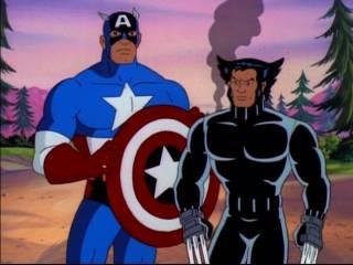 Captain America and Logan go way back.