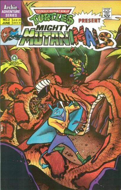 Teenage Mutant Ninja Turtles Present Mighty Mutanimals Special