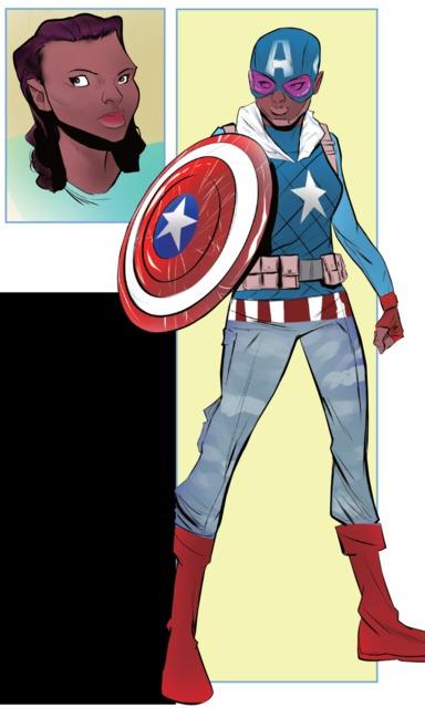 Samantha Wilson - Captain America