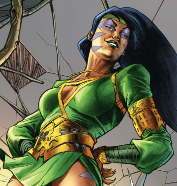 Cheshire as she appears in the New 52
