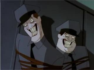 The effects of Joker Venom in Batman: the animated series